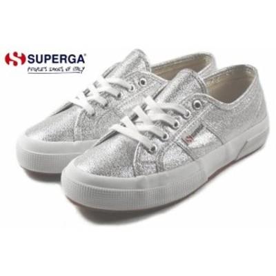 定番 スペルガ SUPERGA スニーカー 2750 LAMEW 2750 ラメ ウィメン シルバー(グレーシルバー) S001820-031