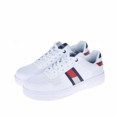 Tommy hilfiger トミーヒルフィガー /Fallop メンズ スニーカー ホワイト アイコン シューズ  靴  送料無料