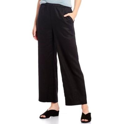 エイリーンフィッシャー レディース カジュアルパンツ ボトムス Organic Linen Ankle Straight Leg Pant