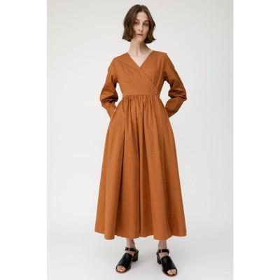 CACHECOEUR LONG DRESS BRN