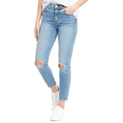 セブンフォーオールマンカインド レディース デニムパンツ ボトムス 7 For All Mankind Rose Ave High-Rise Ankle Skinny Leg Jean Rose