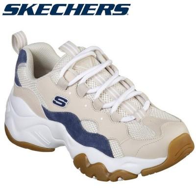 スケッチャーズ D'LITES 3-HIGH ALERT 88888210-TAN レディースシューズ 20SS SKECHERS