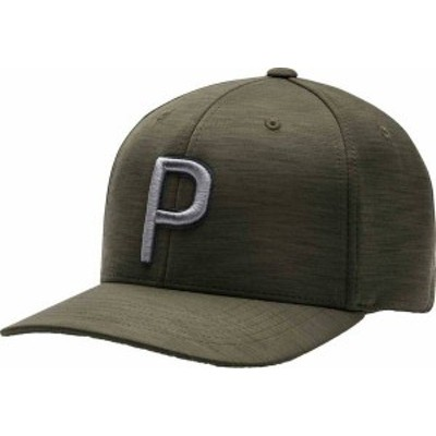 プーマ メンズ 帽子 アクセサリー PUMA Men's P 110 2020 Golf Hat Deep Lichen Green