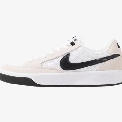ナイキ メンズ 靴 シューズ ADVERSARY UNISEX - Skate shoes - white/black
