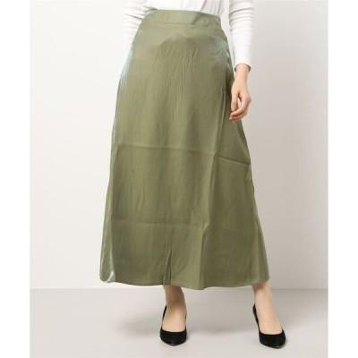 スカート オーロラツイルフレアスカート