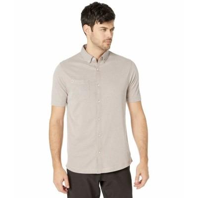 リンクソウル シャツ トップス メンズ Hybrid Oxford Button-Down Shirt Cashmere Sand