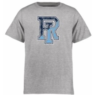 Fanatics Branded ファナティクス ブランド スポーツ用品  Rhode Island Rams Youth Ash Classic Primary T-Shirt