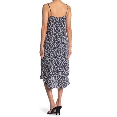 ヴェルヴェットハート レディース ワンピース トップス Merlyn Adjustable Shoulder Strap Floral Print Cami Dress BLUE BLOOM