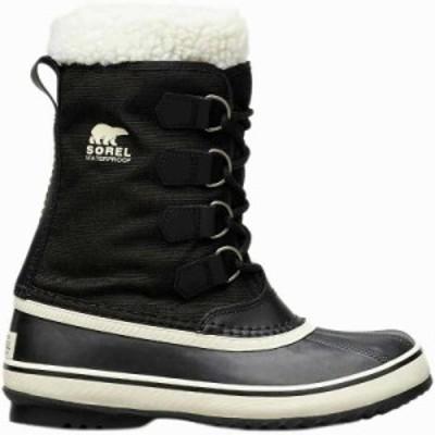 (取寄)ソレル レディース ウィンター カーニバル ブーツ Sorel Women Winter Carnival Boot Black/Stone