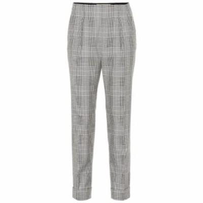 ローラン ムレ Roland Mouret レディース ボトムス・パンツ Horley checked wool-blend pants Monochrome