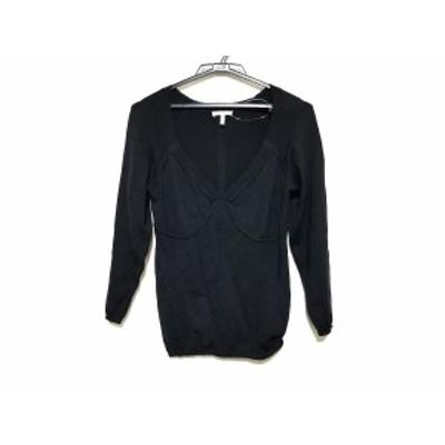 マックスマーラ Max Mara 長袖セーター サイズL レディース 美品 - 黒【中古】20201010