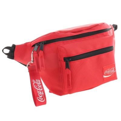 コカコーラ雑貨 コカ・コーラ ウエストポーチ COK-HBD01 RDレッド