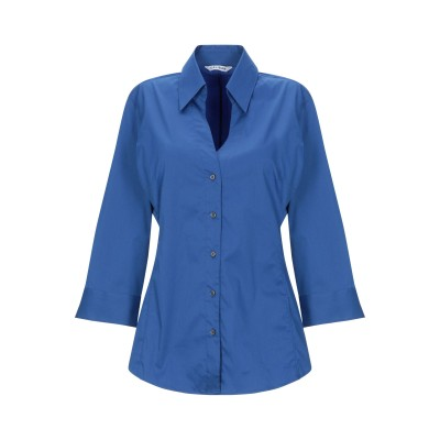 カリバン CALIBAN シャツ ブライトブルー 38 コットン 70% / ナイロン 27% / ポリウレタン 3% シャツ