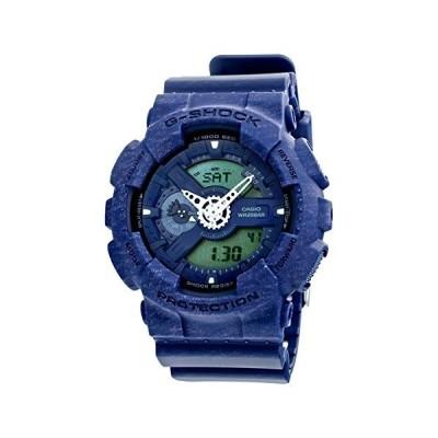 カシオ CASIO Gショック アナデジ クオーツ メンズ 腕時計 GA-110HT-2A ネイビー [品][並行輸入品]