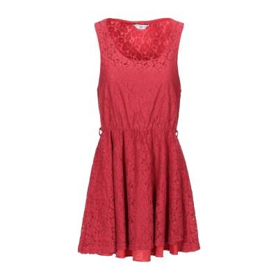 NEW LOOK ミニワンピース&ドレス レッド 12 コットン 60% / ナイロン 40% ミニワンピース&ドレス