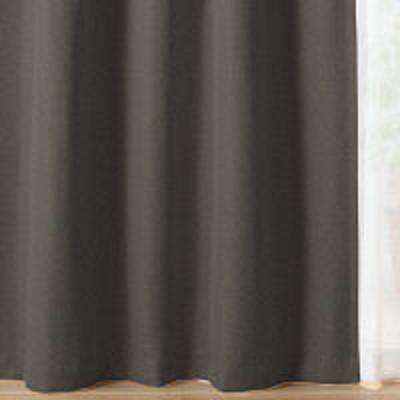 良品計画【SALE】 無印良品 ポリエステルツイル(防炎・遮光性・形態安定)プリーツカーテン/ブラウン 幅100×丈178cm 02841805 良品計画
