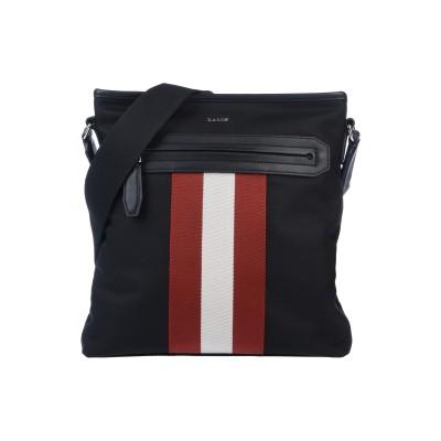 BALLY メッセンジャーバッグ ブラック 紡績繊維 メッセンジャーバッグ