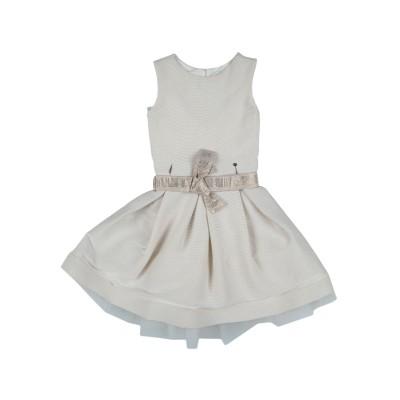 MISS GRANT ワンピース&ドレス ベージュ 8 ナイロン 79% / ポリエステル 18% / ポリウレタン 3% ワンピース&ドレス