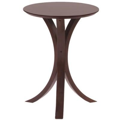 サイドテーブル まるい おしゃれ ブラウン 茶色 木製 ウッド おしゃれ シンプル かわいい