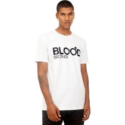 ブラッドブラザー Blood Brother メンズ Tシャツ トップス Tee White