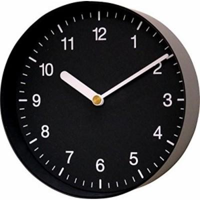 岩嵜紙器 壁掛時計 enough Clock(Number) M ブラック