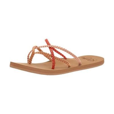 Roxy Women's Trinn Strappy Flip Flop Sandal, Multi 20, 10 M US