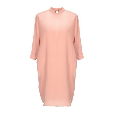 アスペジ ASPESI ミニワンピース&ドレス ライトピンク 40 100% シルク ミニワンピース&ドレス