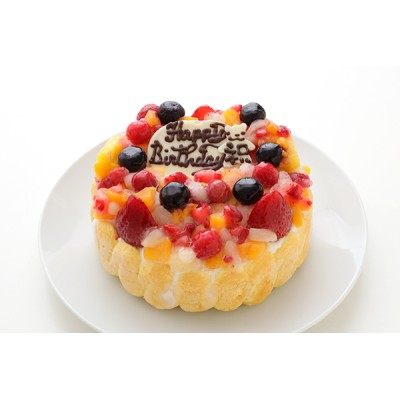 フルーツアイスケーキ 4号 12cm