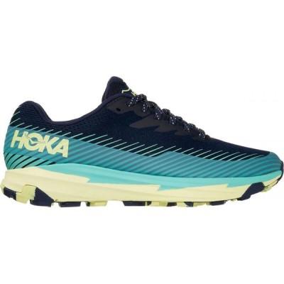 ホカ オネオネ HOKA ONE ONE レディース ランニング・ウォーキング シューズ・靴 Torrent 2 Trail Running Shoe Black Iris/Cascade