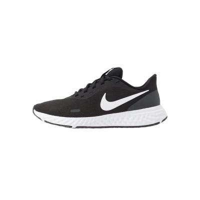 ナイキ シューズ レディース ランニング REVOLUTION 5 - Neutral running shoes - black/white/anthracite