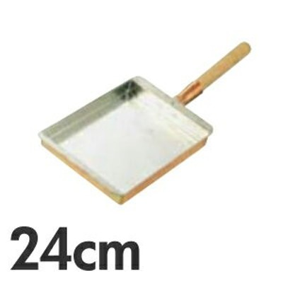 SA 銅 玉子焼 関西型 24cm (玉子焼き器・卵焼き フライパン)