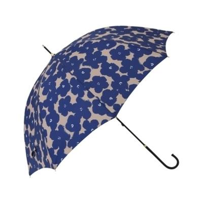 Francfranc / 【晴雨兼用】ハナプリント 長傘 ネイビー WOMEN ファッション雑貨 > 長傘