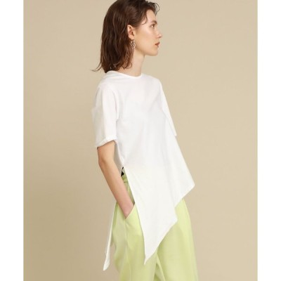 tシャツ Tシャツ 【FEMMENT(ファモン)】オーガニックコットンクロスジャージバブーシュカS/S Tee