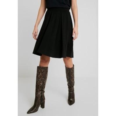 アンナフィールド レディース スカート ボトムス BASIC - A-line skirt - black black