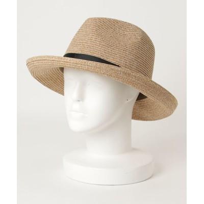 Abahouse Devinette / ecru ウォッシャブル折りたたみハット WOMEN 帽子 > ハット