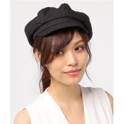 salle de bal / ▽ リネンマリンキャスケット WOMEN 帽子 > キャスケット