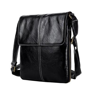 サコッシュ ミニ ショルダー バッグ 軽量 軽い フラップ ミニバッグ おしゃれ 黒 斜めがけ 鞄 アウトドア 縦型 PUレザー メンズ3196