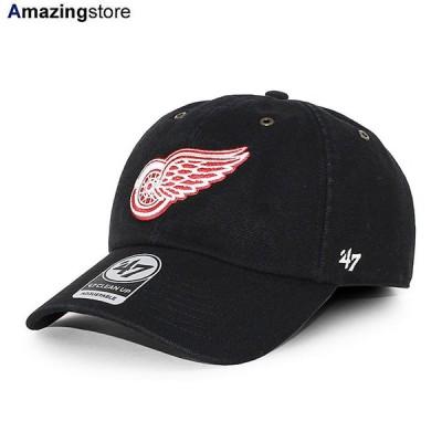 47ブランド カーハート デトロイト レッドウィングス 【CARHARTT NHL CLEAN UP STRAPBACK CAP/BLACK】 47BRAND DETROIT RED WINGS