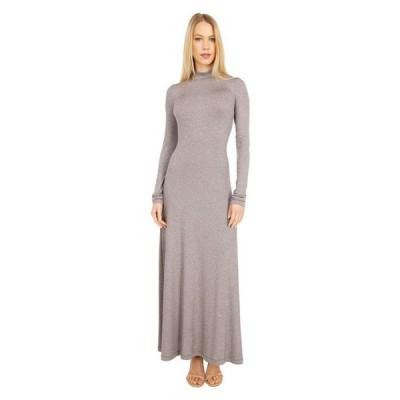 エム ミッソーニ レディース ワンピース トップス Long Sleeve Mock Neck Maxi Jersey Dress