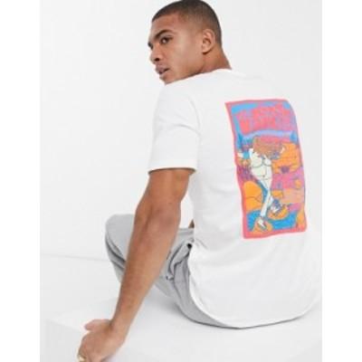ノースフェイス メンズ シャツ トップス The North Face Day Tripper t-shirt in white Tnf white