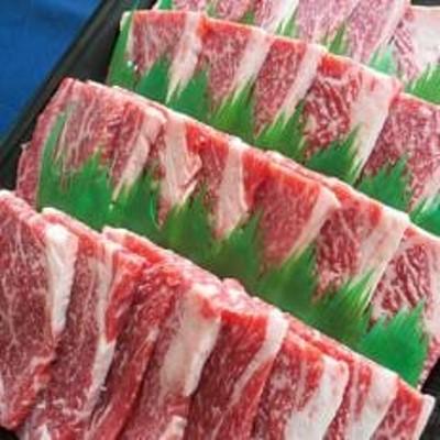 【小林牧場の甲州ワインビーフ】カタロース焼肉用 800g