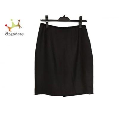 ジャスグリッティー JUSGLITTY スカート サイズ2 M レディース ダークグレー×黒 新着 20201115