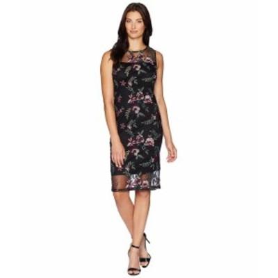 Calvin Klein カルバンクライン ドレス 一般 Embroidered Dress with Illusion Yoke CD8LB4CY