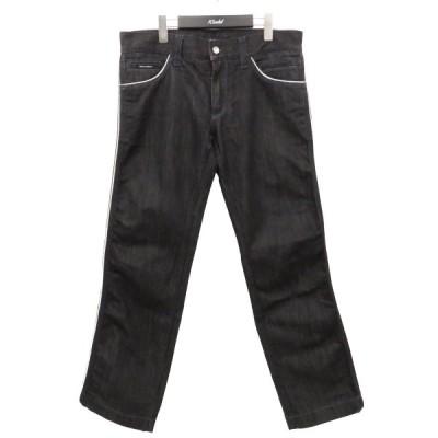 DOLCE&GABBANA 14CLASSIC デニムパンツ ブラック サイズ:48 (フレスポ東大阪店) 210402