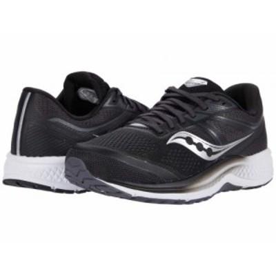 Saucony サッカニー メンズ 男性用 シューズ 靴 スニーカー 運動靴 Omni 19 Black/White【送料無料】