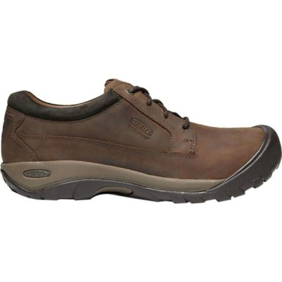 キーン KEEN メンズ シューズ・靴 Austin Casual Waterproof Shoe Chocolate Brown/Black Olive