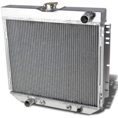 DNA Motoring RA-FM69V8-3 Aluminum Racing Radiator