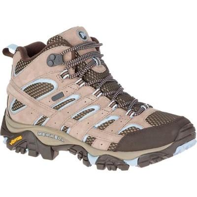 メレル Merrell レディース ハイキング・登山 ブーツ シューズ・靴 Moab 2 Mid Waterproof Hiking Boot Brindle