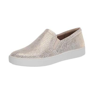 Naturalizer Women's Marianne Slip-Ons Sneaker, White Gold, 8 US medium【並行輸入品】