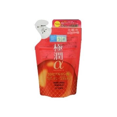 肌ラボ 極潤α ハリ化粧水 つめかえ用 170ml ロート製薬【RH】